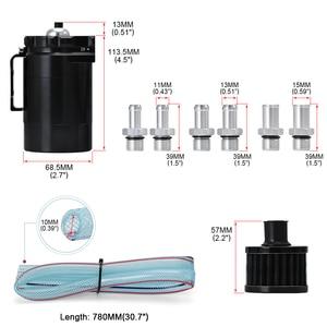 Image 5 - ถังเก็บน้ำมันขนาด 240 มล. สามารถเก็บถังได้พร้อมตัวกรองอากาศกรองอากาศเครื่องยนต์กระบอกสูบคู่