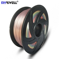 Myriwell Top Quality 1.75mm 3D Printer PLA Filament 1KG 335M 2.2LBS 3D Printing Material for RepRap 35 kinds colours