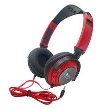 유선 헤드폰 마이크 이어폰 3.5mm AUX 접이식 휴대용 게임 헤드셋 MP4 컴퓨터 PC 스테레오 음악 하이파이베이스