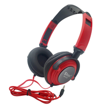 Fones de ouvido com fio com microfone fones de ouvido 3.5mm aux dobrável portátil gaming headset para telefones mp4 computador pc estéreo música alta fidelidade graves