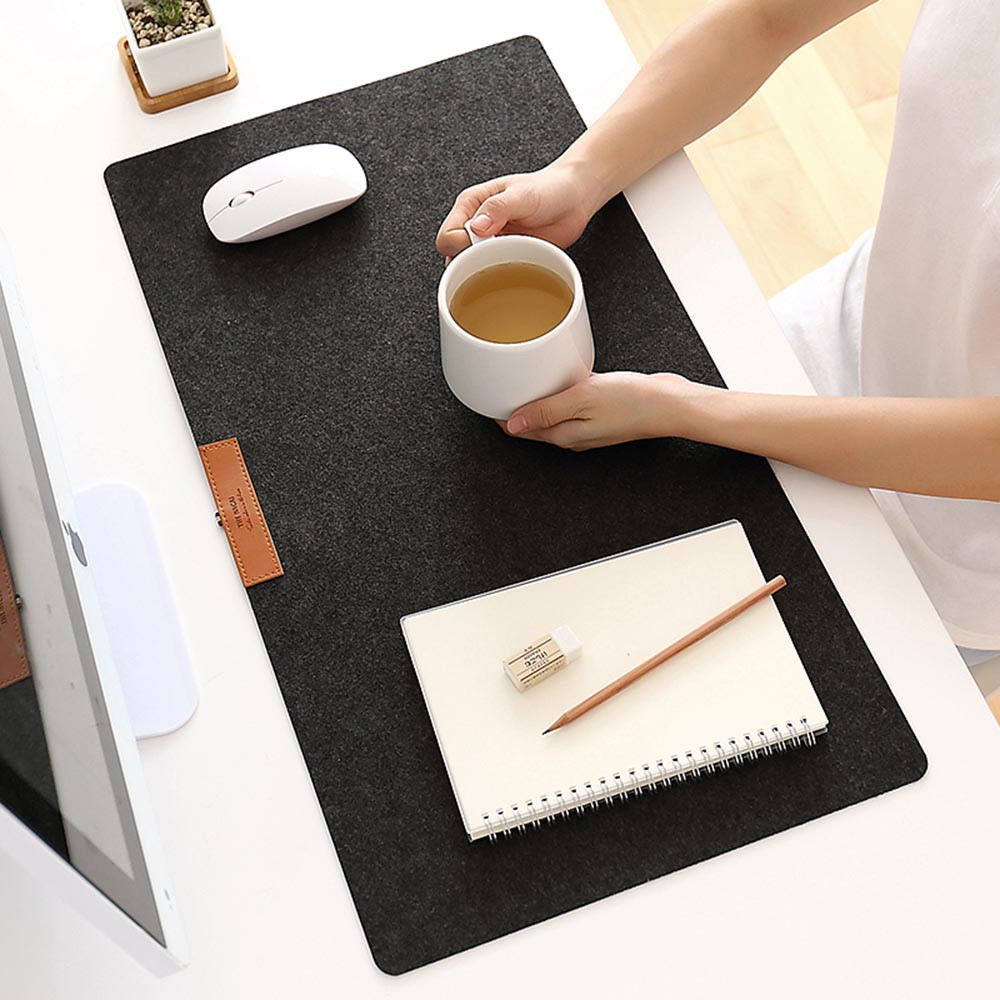 New 700*330mm Large Keyboard Mouse Pad Office Computer Desk Mat Modern Table Wool Felt Gamer Mouse Mat