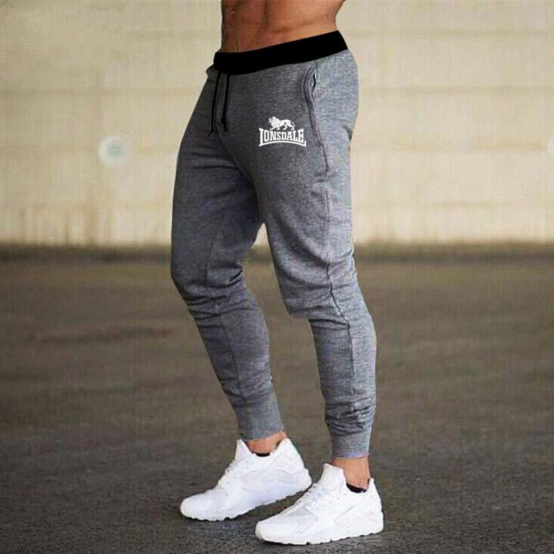 2020 Mens Joggers Casual Pants Men Sportswear Tracksuit Bottoms Skinny Sweatpants Lonsdale Trousers Black Jogger Track Pants