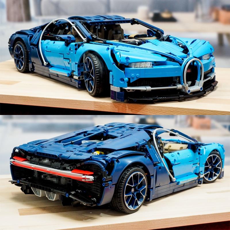 Lepinblocks Bugattied Chiron Racing Car 20086 Compatible with lepining building Blocks Technic Series Model Bricks 42083 Toys|Blocks| |  - title=