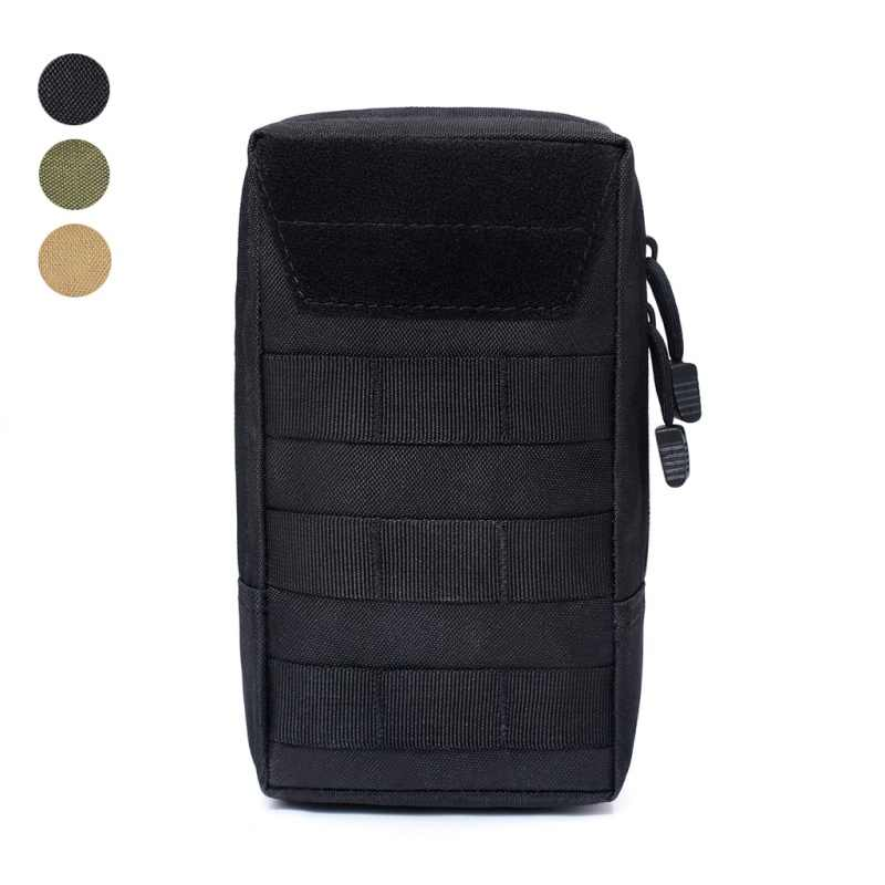 1000D MOLLE Pouch Bag Military Tactical  Airsoft Sports Utility Bags Vest EDC Gadget Hunting Waist Pack