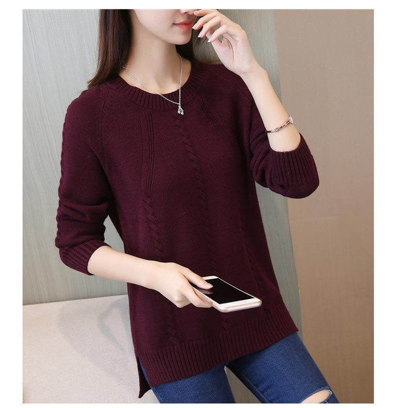 Cheap wholesale 2020 new autumn winter Hot selling women's fashion casual warm nice Sweater L259