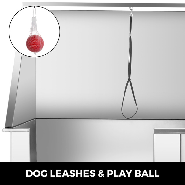 Electric Lift Dog Washing Tub with High Pressure Sprayer  2