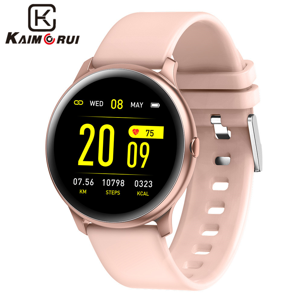 Smart Fitness Trakcer Watch Women Heart Rate Pedometer Sports Smart Bracelet Multi-Color Watch Man for Android IOS Smart Band