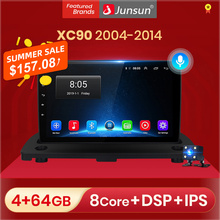 Junsun V1 2+32GB Android 10.0 DSP For Volvo XC90 2004 2014 Car Radio Multimedia Video Player Navigation GPS 2 din No SWC Control
