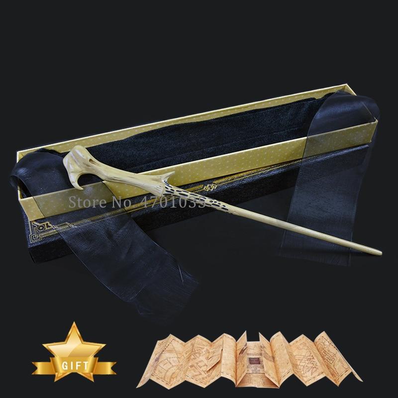 Волшебная палочка с металлическим сердечником, 32 вида волшебных палочек, волшебная палочка, волшебная палочка, Поттер, коробка с картой, под...
