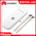 Новый разблокированный Huawei 4G аппарат не привязан к оператору сотовой связи 150 Мбит/с E3372 E3372h-320 USB мобильного широкополосного ключ USB палочка ...