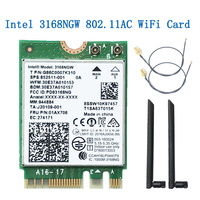 Intel 3168 AC Wireless dual band 600 mbps drahtlose netzwerk karte wi-fi empfänger 3168ngw ngff m.2 802,11 ac wifi bluetooth 4,2 karte