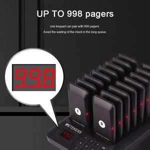 Image 4 - Retekess TD157ร้านอาหารPager Wireless Calling System 16 Pagerเครื่องรับสำหรับClinicร้านกาแฟWaiter Pagersคิวระบบ