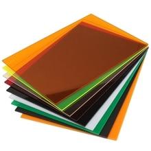A4 210x297x3mm Transparent Acrylic (PMMA) Plexiglass Tinted Sheets/plexiglass plate/acrylic plate black/white/red/green/orange