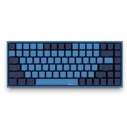 Teclado de juego AKKO 3084 SP Ocean Star de 84 teclas con cable USB tipo C 85% PBT, teclas Cherry MX, interruptor para teclado mecánico