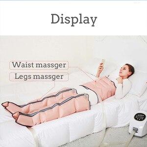 Image 3 - 3 modi Luftkammern Bein Compression Massager Vibration Infrarot Therapie Arm Taille Pneumatische Air Wraps Entspannen Schmerzen Relief Massage