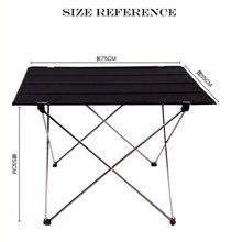 Außen Ultraleicht Tragbare Falten Schreibtisch Aluminium Legierung Tisch Für Angeln Picknick Durable Klapptisch Schreibtisch