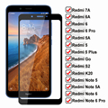 Защитное стекло 9D HD для Xiaomi Redmi 7A 6 6A 5 5A Go S2 K20, пленка для экрана Redmi 5 Plus Note 5 5A 6 Pro, закаленное стекло, пленка