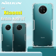 for Xiaomi Redmi Note 9T 5G Case Casing Nillkin 0.6mm Ultra Thin Slim Soft Silicon TPU Clear Back Cover on Redmi Note 9T