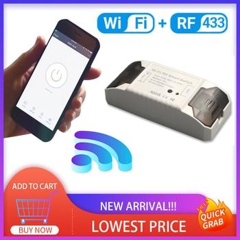 Tuya Smart Home Wifi Wireless WiFi RF 433 Remote Control Smart Switch Breaker Controller Smart Life APP Home Accessories Hot недорого
