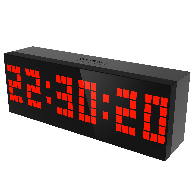 Best selling 2019 products kitchen clock reloj despertador digital led zegar ścienny reloj digital pared sveglia