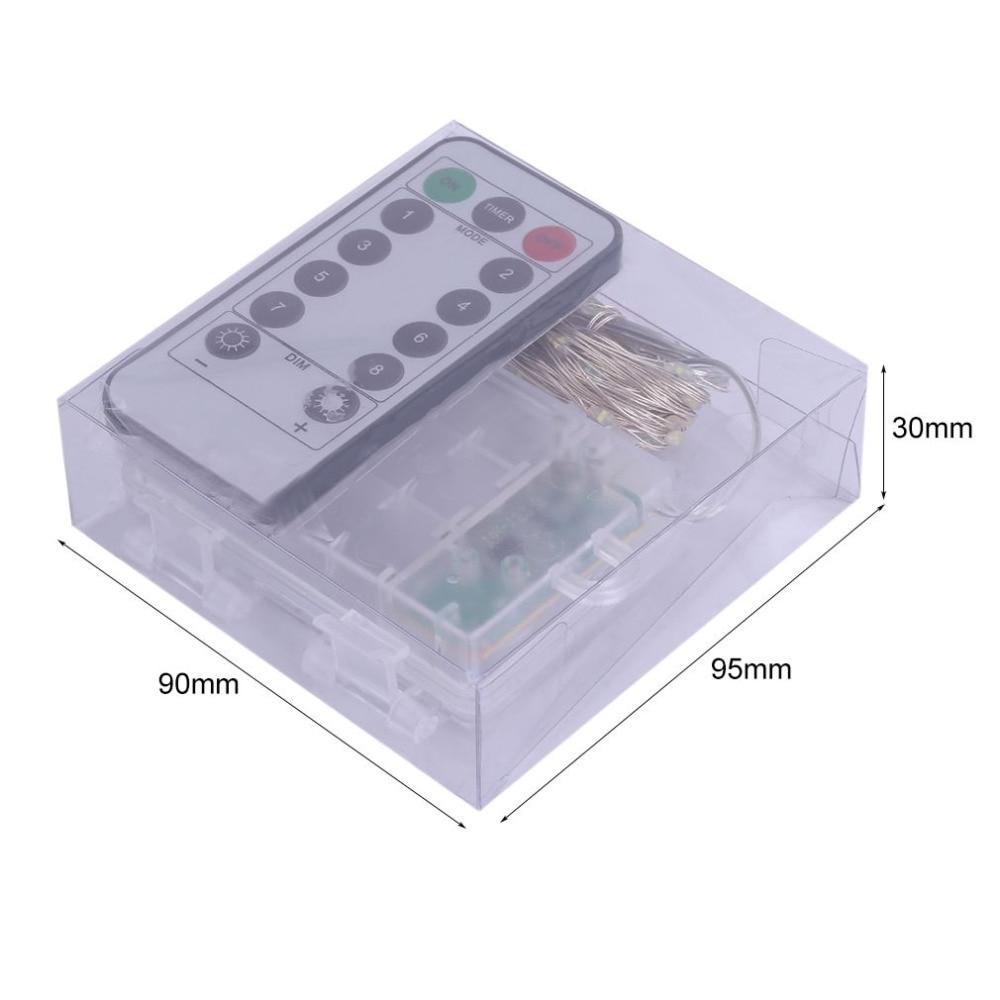 3aa caixa bateria com 8 função controle remoto
