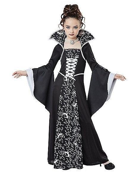Halloween-costume-for-kids-Girls-Witch-Vampire-Cosplay-Costume-disfraz-Halloween-mujer-Children-s-performance-clothing (3)