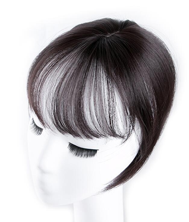 Черный/светильник, коричневые накладные волосы на заколках для женщин, синтетические высокотемпературные волокна для наращивания волос - Цвет: natural black