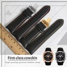 Ремешок для часов Tissot T035 мужской, брендовый браслет из 1853 натуральной кожи, 22 мм 23 мм 24 мм