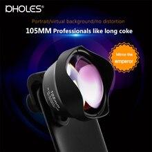 105MM Pholes External Lens for iPhone portrait lens Mobile p