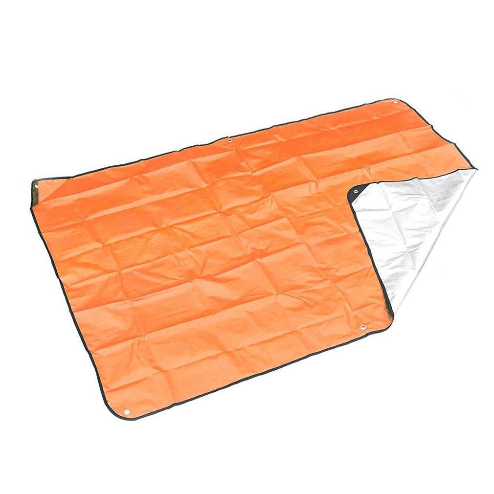 Outdoor Emergency Emergency Blanket Emergency Emergency Sleeping Bag Pe Aluminized Film Insulation Reflective