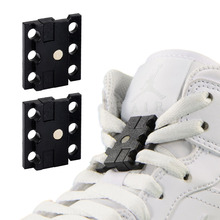 1 Pair Magnetic Shoelace Buckle Closure Shoelaces Top Quality for Sport Shoes Boots New Creative Lazy Shoe Laces Close Buckles