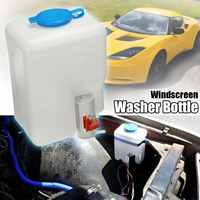 Kit de botellas universales para lavadora de parabrisas de coche de 12V con interruptor de botón de chorro de bomba 160186