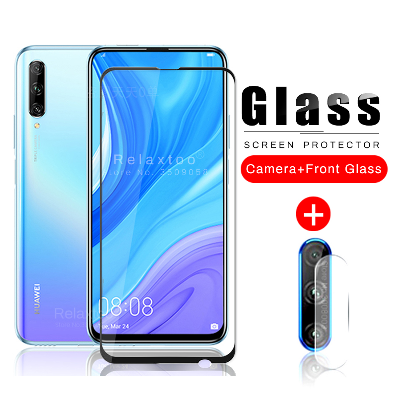2-in-1 Camera Lens Film & Protective Glass For Huawei Y9s Y9 S 2020 6.59'' Safety Armor Tempered Film Protection Glas Huaweiy9s