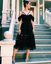 quality high dress black