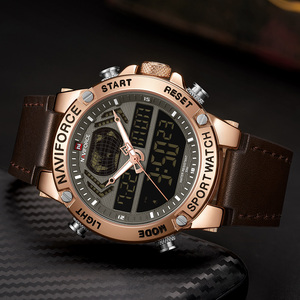 Image 3 - Naviforce 男性の腕時計 2019 ブランドの高級デュアルディスプレイメンズビジネス男性腕時計メンズ腕時計メンズ腕時計トップブランドの高級