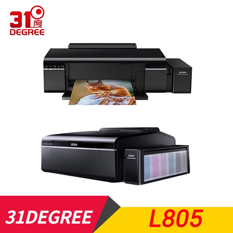 Freeshipping Wtsfwf 220V  L805 6Color Inkjet Printer A4 SIZE Inkjet Printer Supporting Sublimation