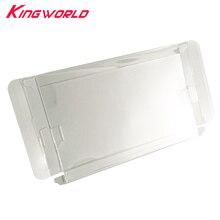 10 pçs transparente transparente caixa de plástico pet protector coleção caixa de armazenamento para interruptor ns cartão de jogo caixa de cor
