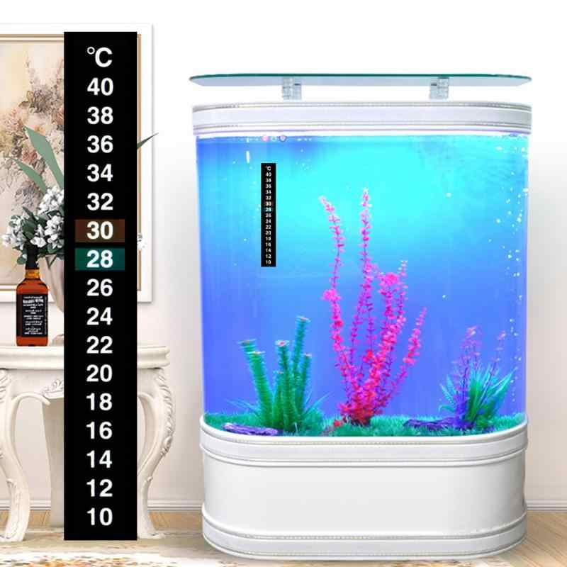 1pcs Aquarium Temperatuur Sticker Aquarium Thermometer Sticker Temperatuur Meting Sticker Aquarium Temperatuur Sticker