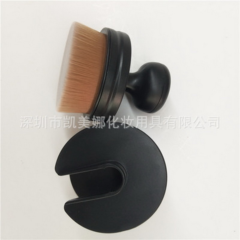 Cream Makeup-Brush Circle Loose-Powder Foundation Blush Dhl Big One 200pcs by Oval Easily