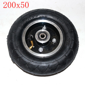 200*50Electric Scooter Tyre With Wheel Hub8