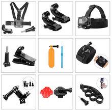 Аксессуары для Gopro hero 8, 7, 6, 5, 4, 3, экшн камера, нагрудная головка, наручный ремешок для автомобиля Xiaomi yi 4k Eken