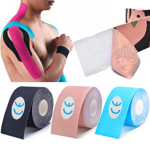 Kinesiology-Tape Protector Muscle-Sticker Football Bandage Cotton Tennis Athletic Fitness