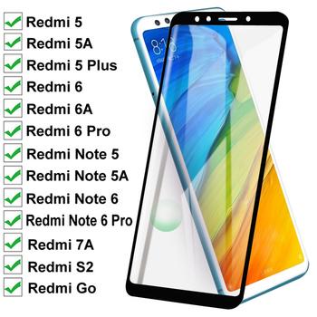 Szkło hartowane 11D dla Xiaomi Redmi 5 Plus 5A Go 6 6A 7A S2 pełna osłona ekranu na Redmi uwaga 5 5A 6 Pro folia ochronna tanie i dobre opinie VGCJOK CN (pochodzenie) Folia na przód Redmi Uwaga 5 Pro Redmi Note 5 Redmi 5A Redmi S2 Redmi 6 Pro Redmi Uwaga 5A Bez obsługi BD