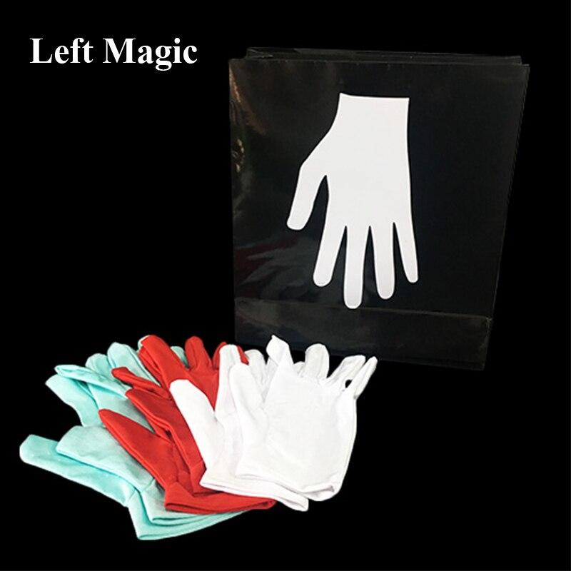Nouveaux gants de couleur changeants de Rossy (Version de poche) tours de magie de scène classique spectacle de magie Illusions Gimmick enfants comédie magique