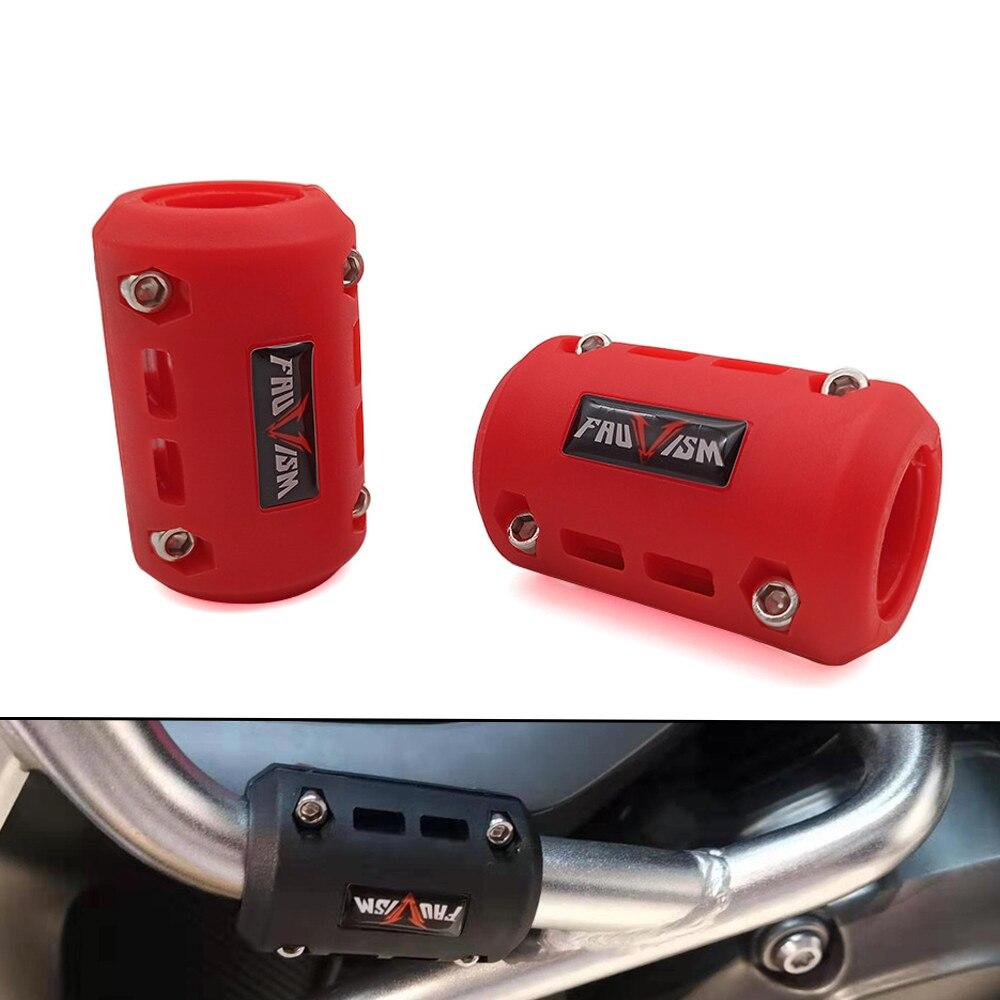 Protector de parachoques de motor de motocicleta Protecci/ón universal 22 mm 25 mm 28 mm Bloque decorativo de moto