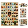 Jigsaw Puzzles for Adults Kids 1000 Pieces National Park World landscape Learning Education Games Toys home Decoration gifts