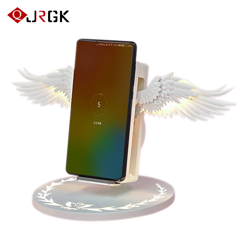 USB Wireless Charger for IPhone Fast Charging for Samsung /Huawei/ Xiaomi Phone Charger Stand 3.0 Fast Charger Type C