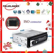 Mp3 player 1 din suporte de rádio do carro bt/fm/mp3/wma/usb/sd cartão de controle remoto mãos livres arquivo de chamada que joga a função de exibição do tempo