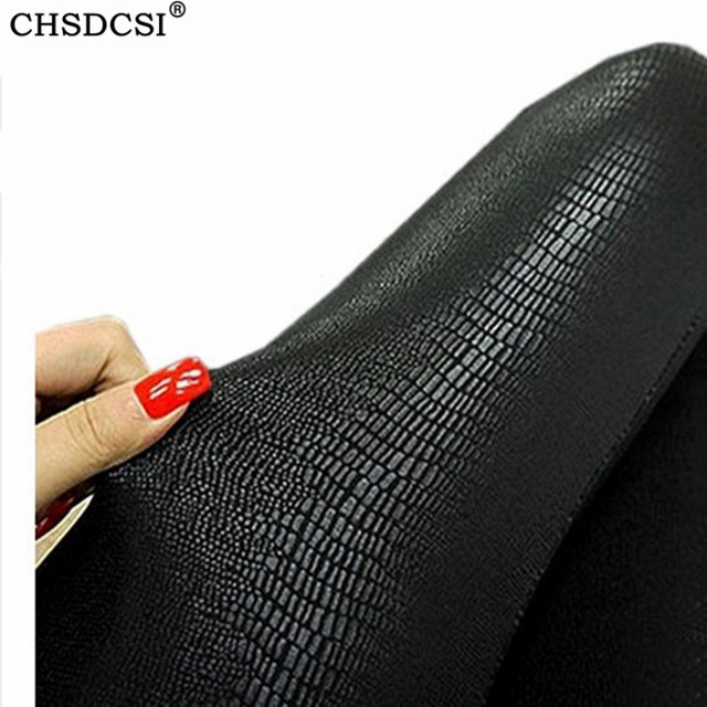High Quality Leather Legging With Snake Patterns 2