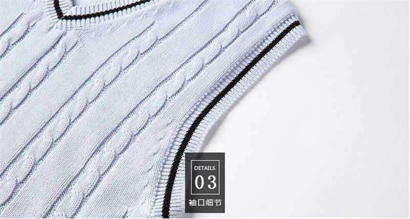 스웨터 남성 패션 민소매 니트 조끼 남성 v 넥 풀오버 자켓 슬림 솔리드 캐주얼 남성 모직 스웨터 Gilet Chaleco